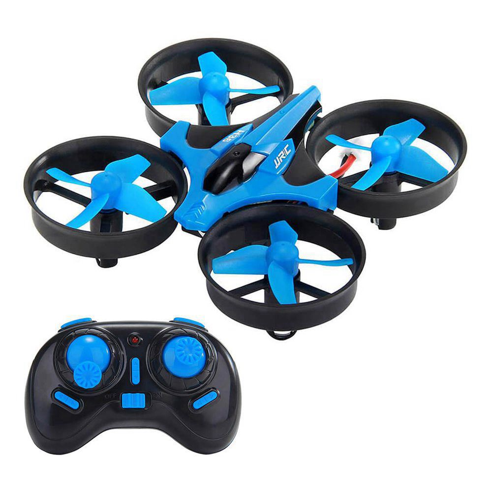 JJRC H36  2.4G 4CH 6Axis Gyro Headless Mode RC Quadcopter RTF Blue - Three Batteries