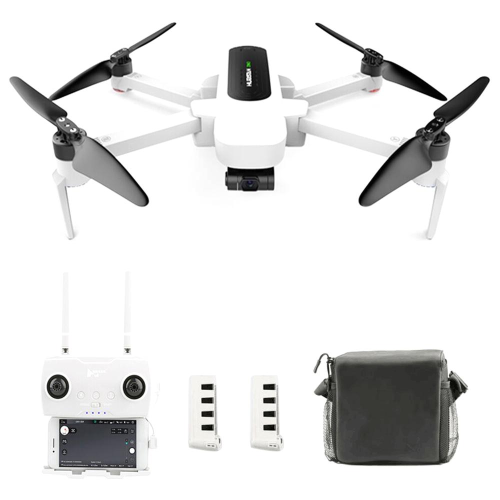 Hubsan H117S Zino 5G Wifi FPV 1KM GPS طوي RC بدون طيار مع كاميرا 4K 3 محور Gimbal - النسخة المحمولة ثلاث بطاريات