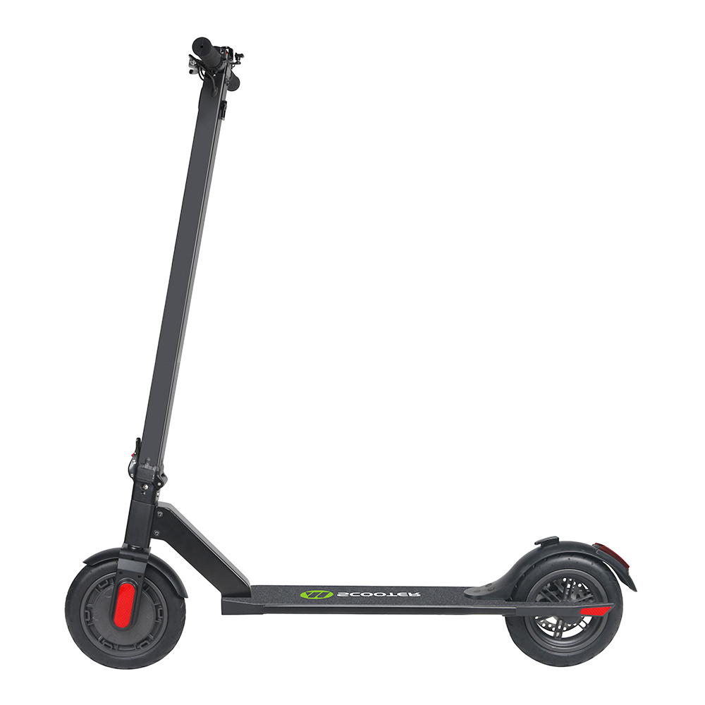 Megawheels S5 Portable Folding Electric Scooter 250W Motor 5.8Ah LG Battery 8.5 Inch Tire  23km/h - Black