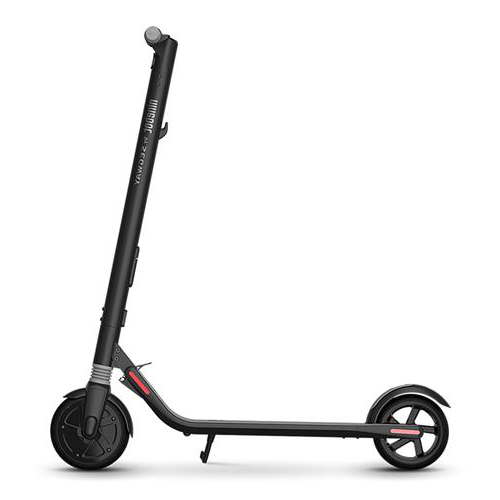 Xiaomi Mijia Ninebot Segway ES1 Standard Version Electric Folding Scooter Waterproof LED Light Dual Brake With APP 500W Motor - Black