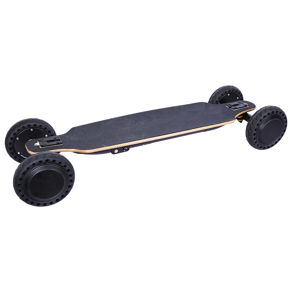 SYL-14 Off Road Electric Skateboard 7.8Ah 36V Battery Max Speed 30km/h Remote Control - Black