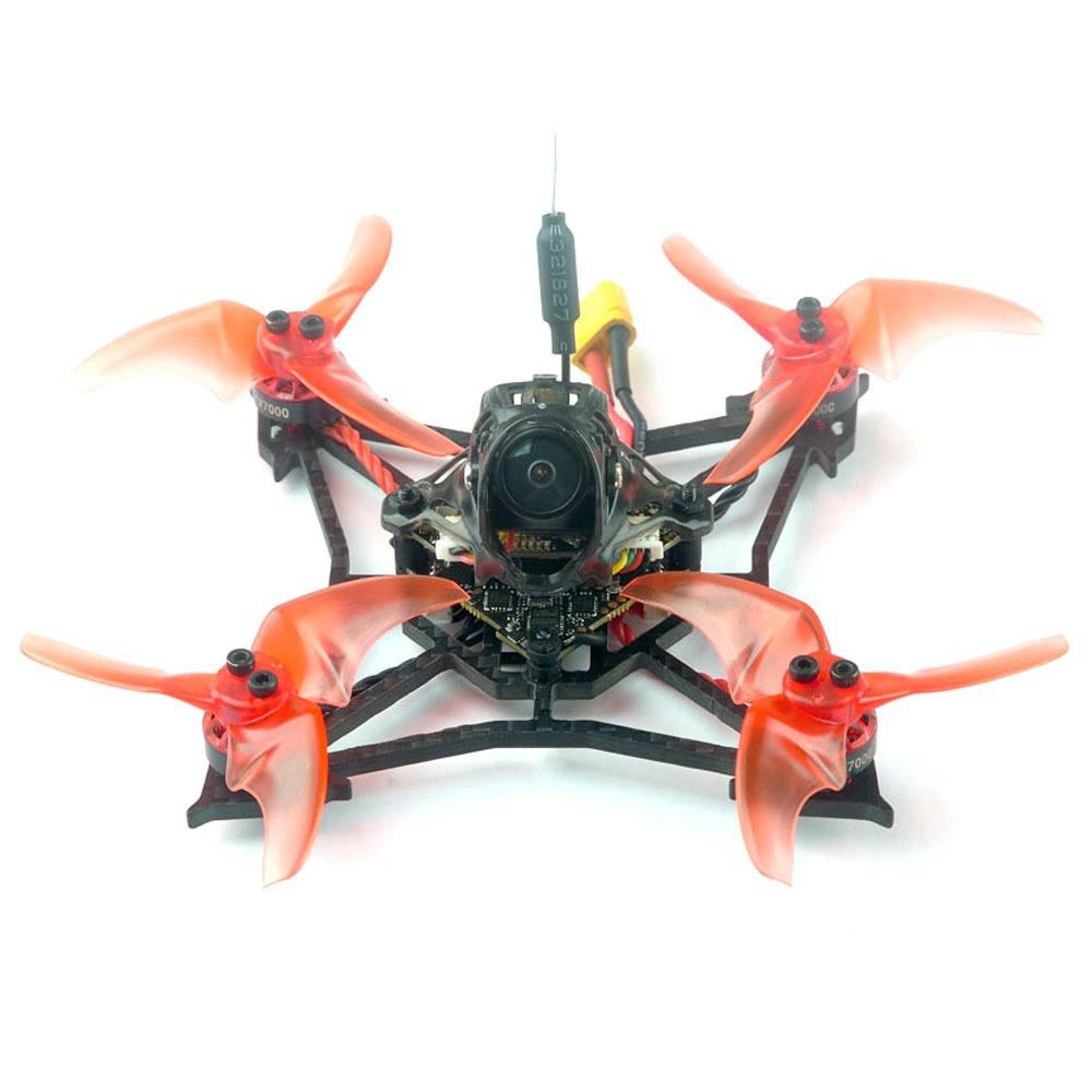 Happymodel LARVA X 2-3S 2.5Inch Hyperlight Brushless FPV Racing Drone F4 PRO V3.0 OSD 10A Diamond_VTX Runcam NANO2 BNF - Flysky RX Receiver