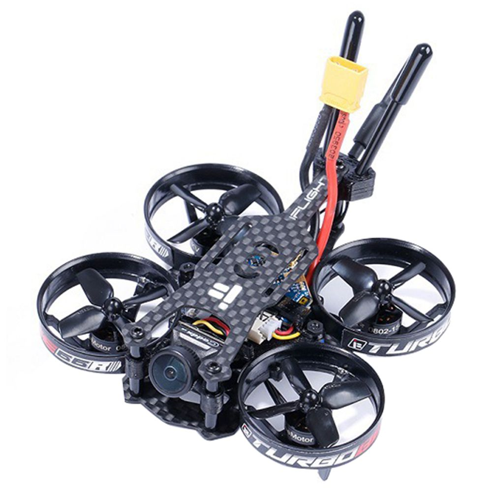 iFLIGHT TurboBee 66R 2S Cinewhoop FPV Racing Drone F4 FC SucceX Micro 12A Caddx Turbo Eos2 Cam BNF - Frsky XM+ Receiver