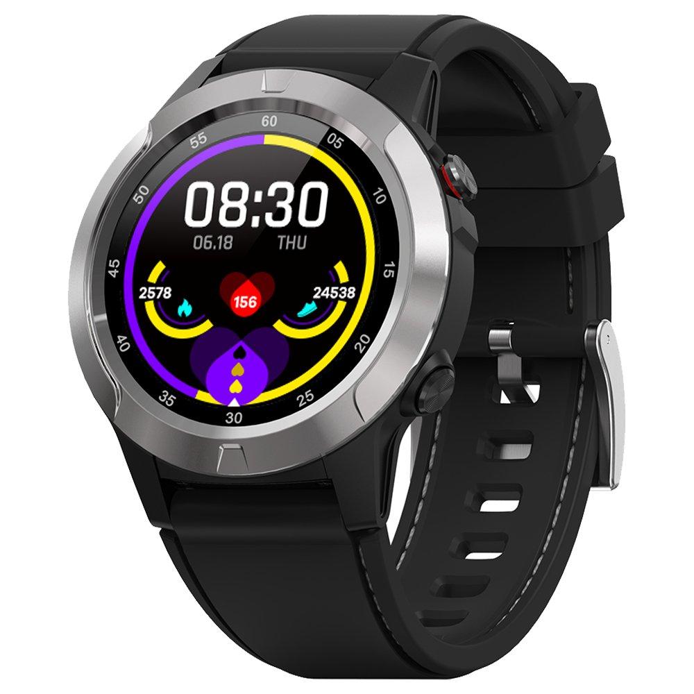 MAKIBES M4C Έξυπνο ρολόι GPS Bluetooth καρδιακή συχνότητα Παρακολούθηση Κλήση υπενθύμιση Υπενθύμιση μουσικής - Silver