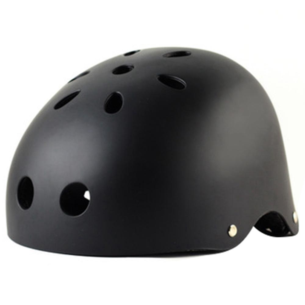 Professional Sports Bike Helmet For Bike Scooter Derby Inline Skateboard Size S - Black