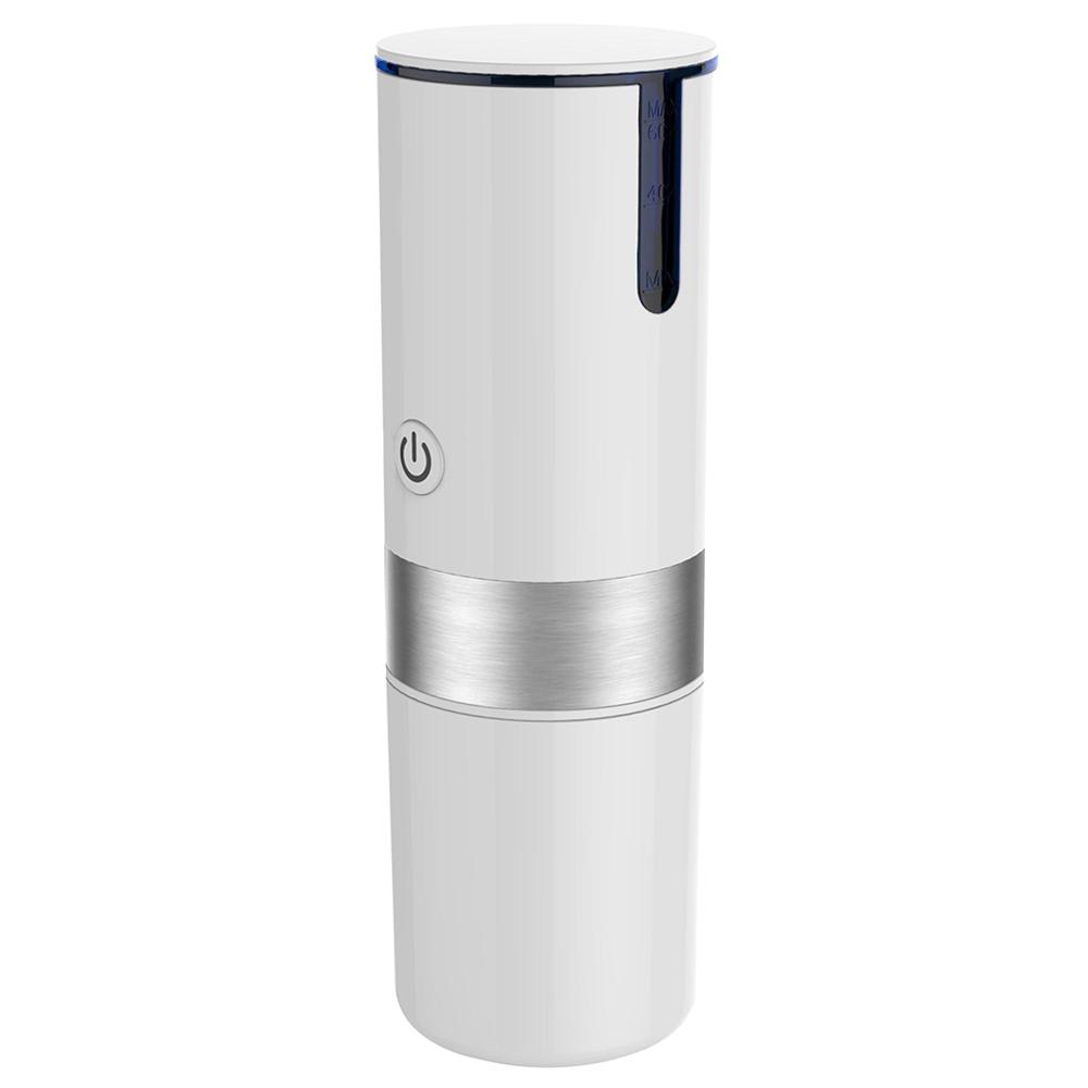 Portable K-cup Capsule Coffee Machine USB Automatic Travel Coffee Maker - White Portable K-cup Capsule Coffee Machine USB Automatic Travel Coffee Maker - White