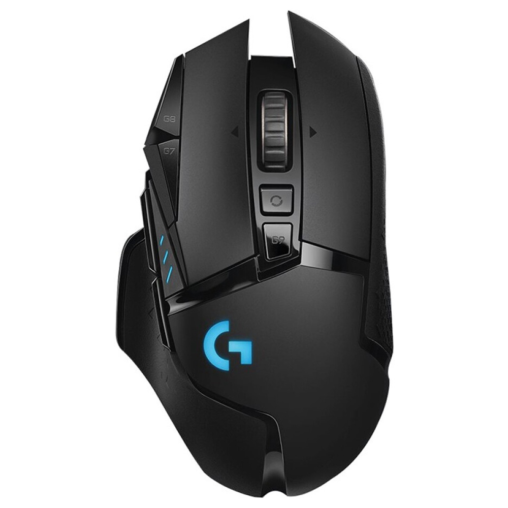 Logitech G502 HERO Lightspeed Wireless Gaming Mouse 16000DPI Tunable Weights 11 Keys - Black