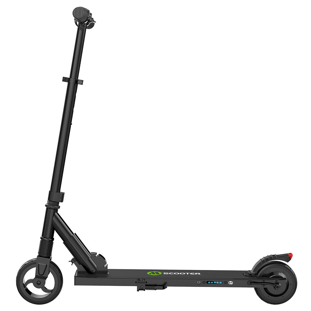 MEGAWHEELS S1-3 Portable Folding Electric Scooter 250W Motor Max Speed 23km/h 5.0Ah Battery - Black