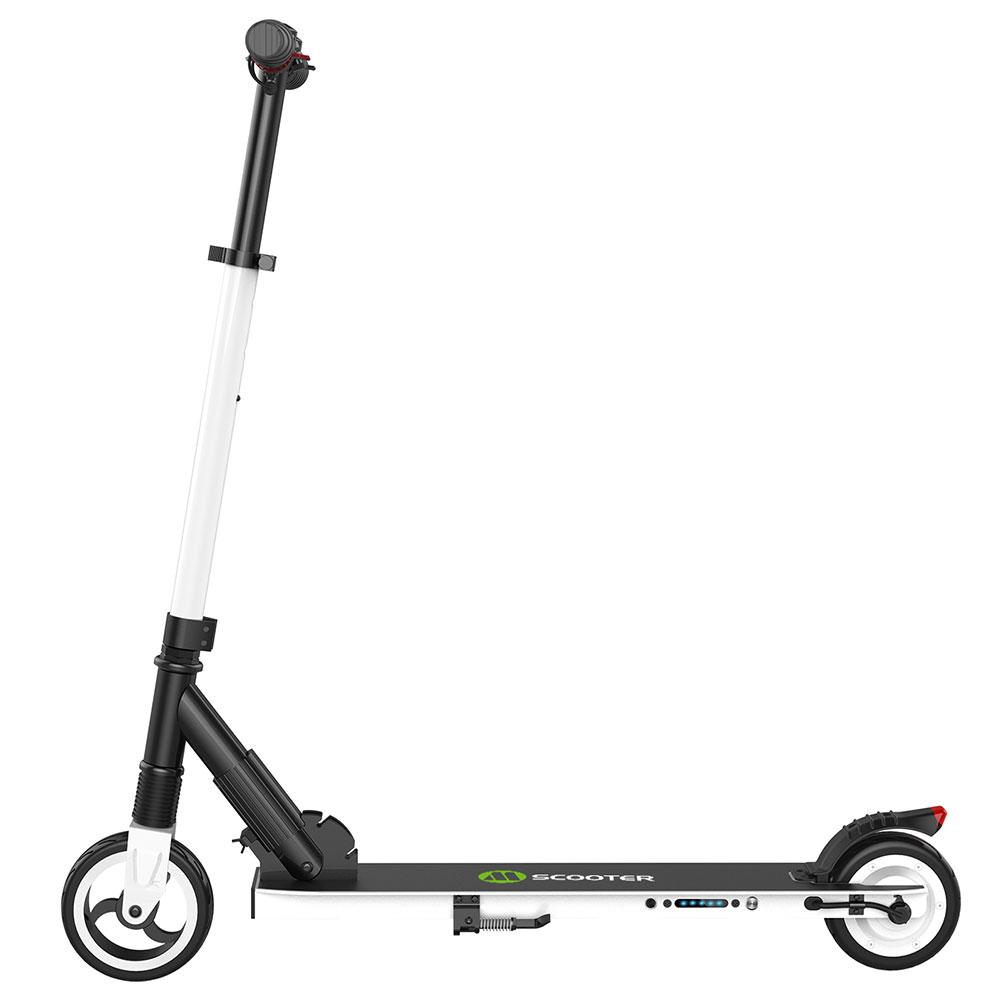 Megawheels S1 Scooter électrique pliant portatif 250W moteur vitesse maximale 23km / h 5.0Ah batterie - blanc