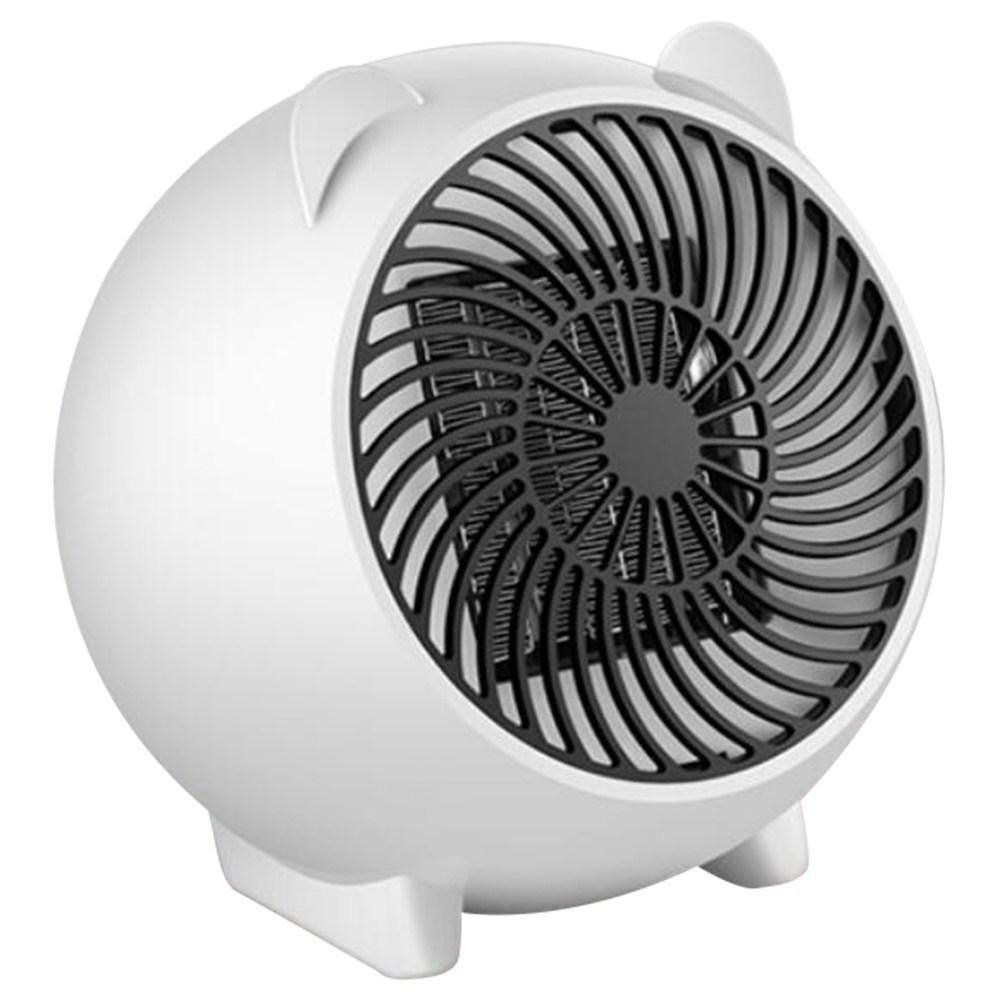 500W Mini PTC Электрический тепловентилятор для зимних помещений - белый