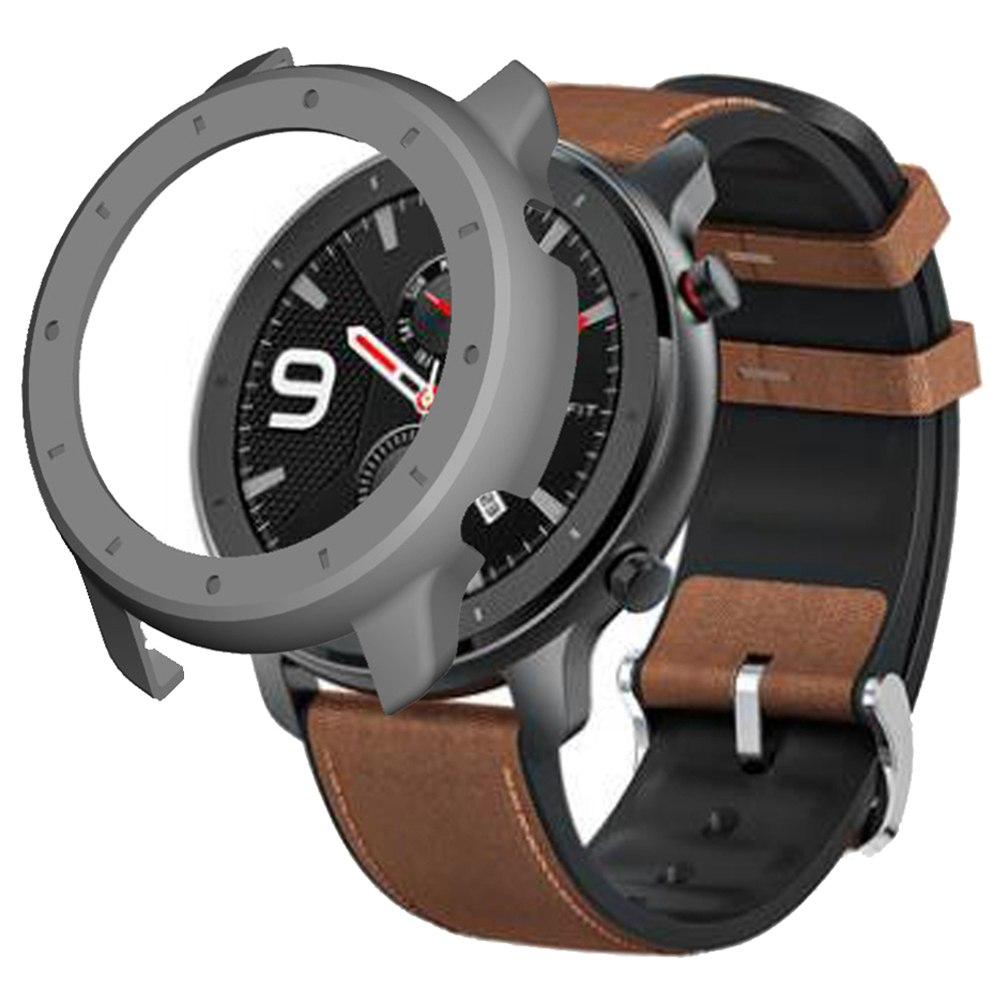 Προστατευτική θήκη σκληρού καλύματος για Xiaomi HUAMI AMAZFIT GTR Smart Sports Watch 47MM - Γκρι