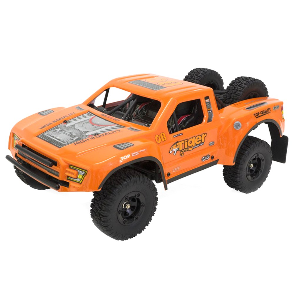Feiyue FY08 Tiger Brushless 2.4G 4WD 1 / 12 35A Waterproof ESC 55km / h Short Course RC Vehicle Car RTR - Orange