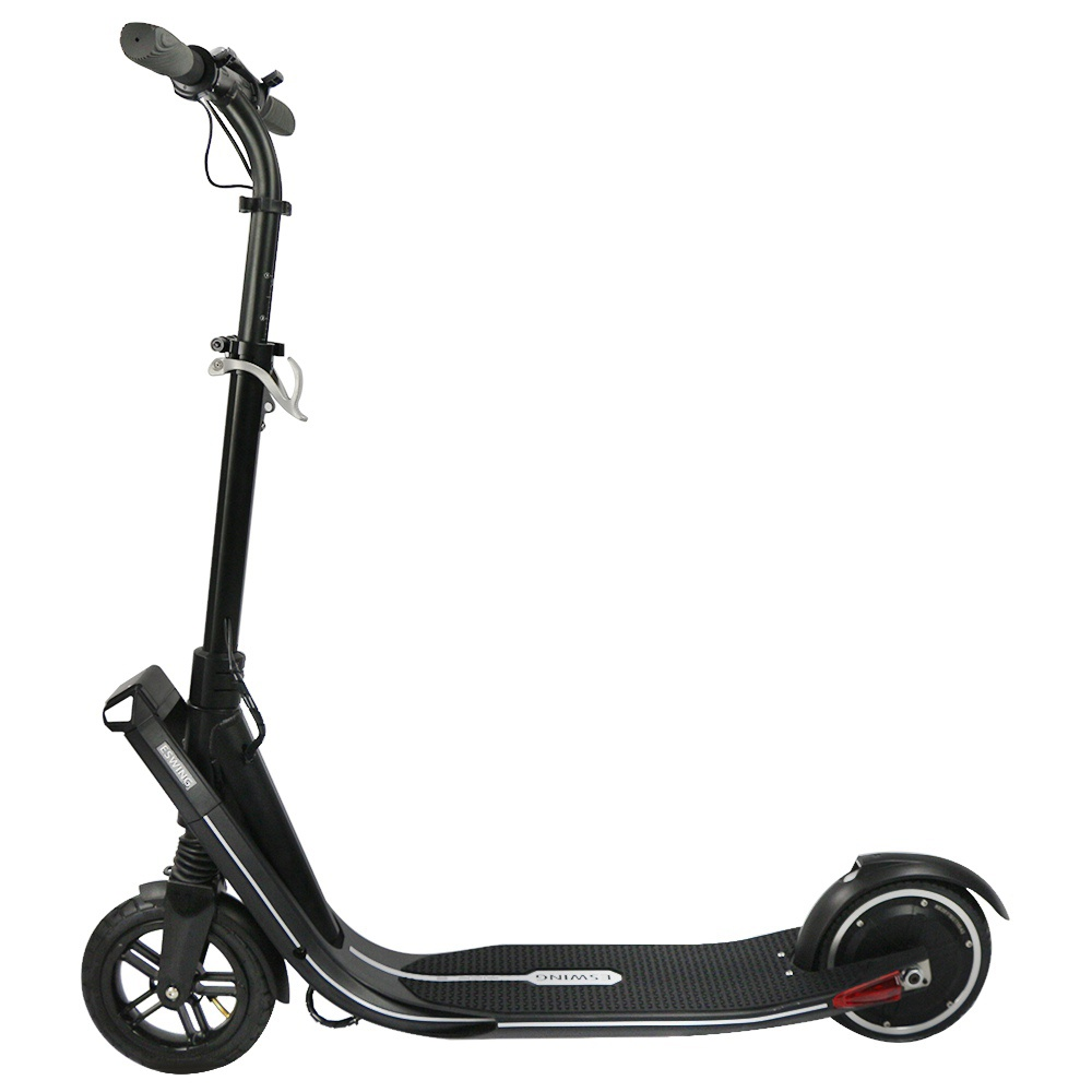 Eswing ESKICK Folding Electric Scooter 250W Motor Max 25km/h Samsung 4.4Ah Battery 8 Inches Anti-Skid Tire - Black