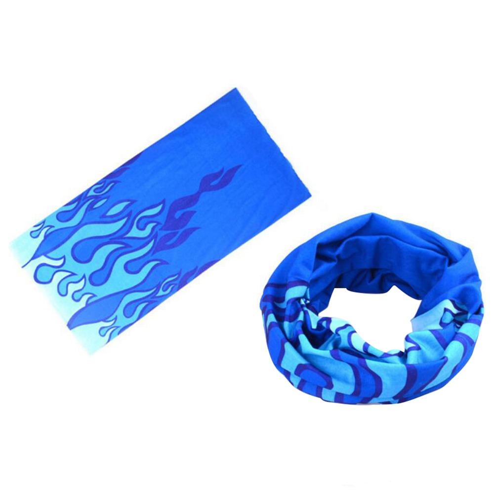 Sports de plein air écharpe magique bandeau d'équitation bandeau doux respirant conception résistante aux taches - couleur aléatoire