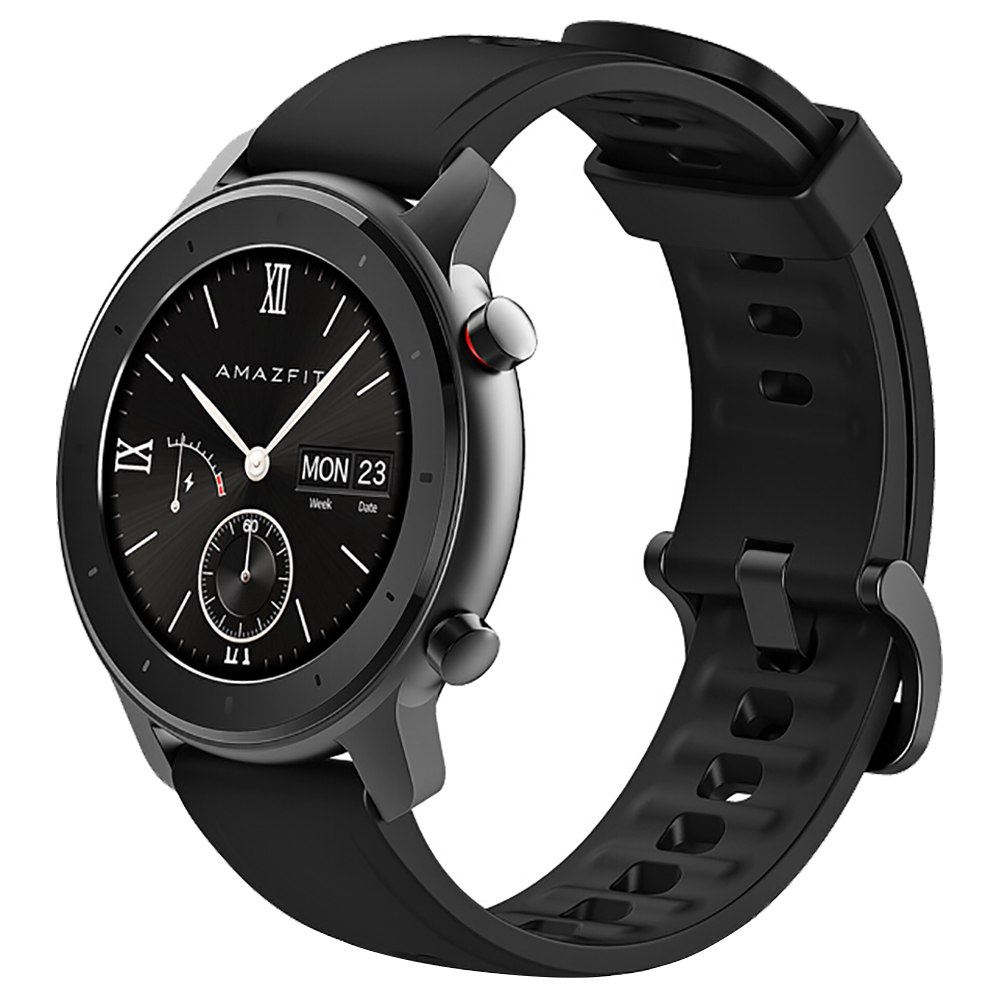 Xiaomi AMAZFIT GTR Smartwatch 1.2 pollici Display AMOLED 5ATM GPS resistente all'acqua 42mm Versione globale in lega di alluminio - Nero
