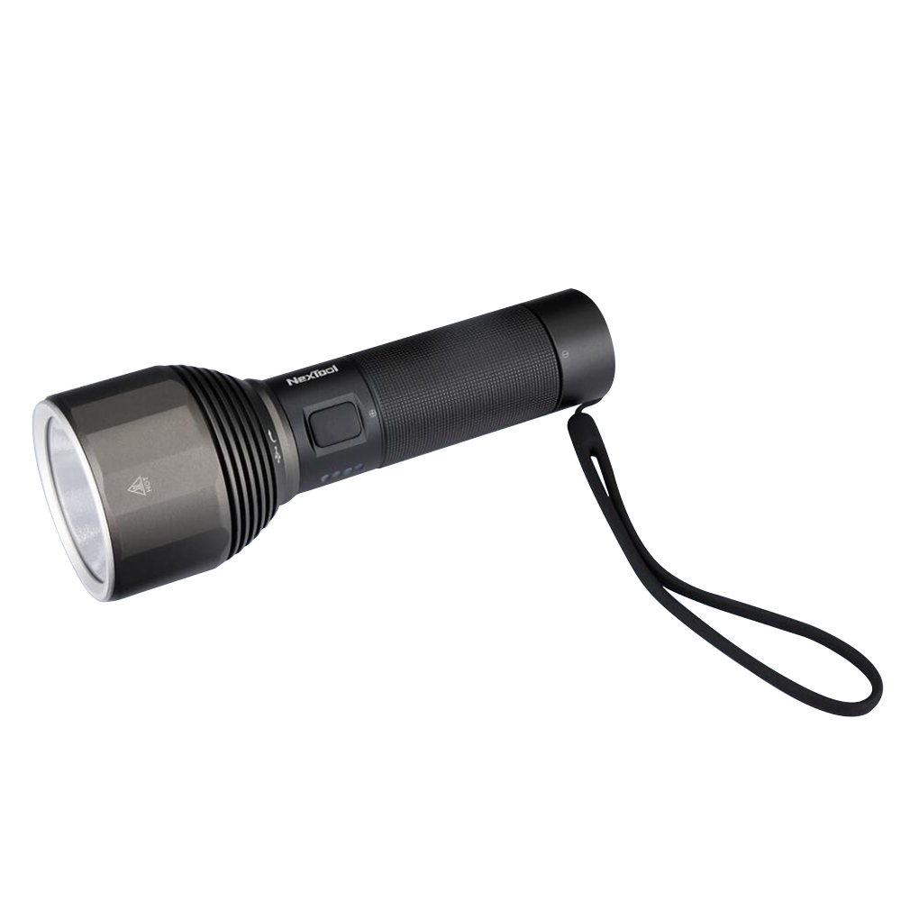 Xiaomi Nextool Outdoor Flashlight Max 2000 Lumen Highlight 5 Models IPX7 - Black