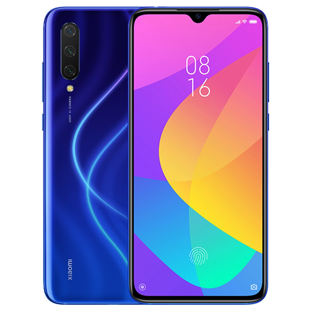 Xiaomi Mi 9 Lite 6.39 Inch 4G LTE Smartphone Snapdragon 710 6GB 64GB 48.0MP+8.0MP+2.0MP Triple Rear Cameras Fingerprint ID Dual SIM MIUI 10 Global Version - Blue