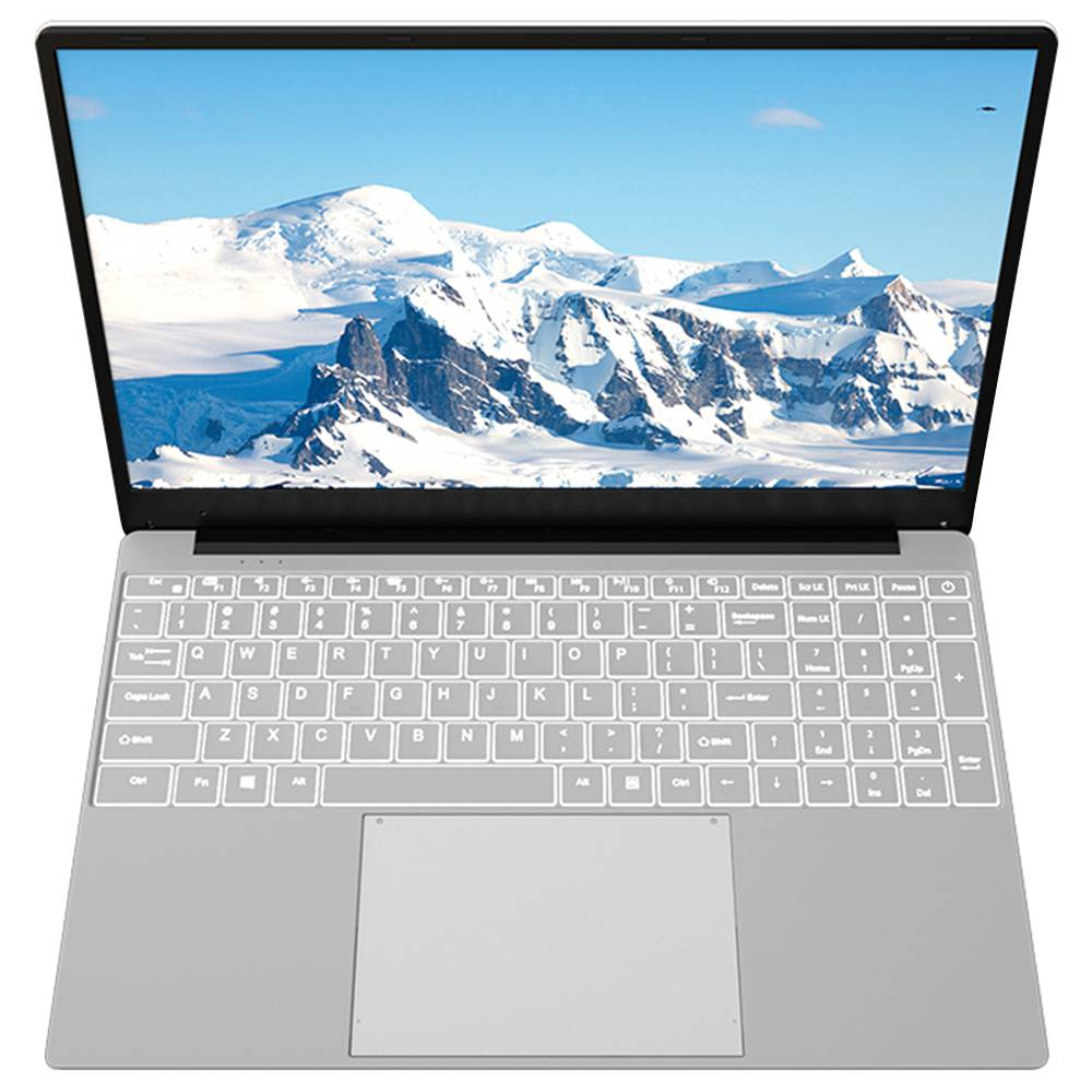 T-BAO Notebook Tbook X9 Intel Core i3-5005U Dual Core 15.6 & quot; FHD-Bildschirm 1920 * 1080 Windows 10 8G 128G SSD - Silber