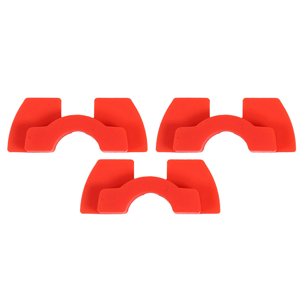 3PCS Damping Rubber Pads Electric Scooter Modified Accessories For Xiaomi M365 - RED