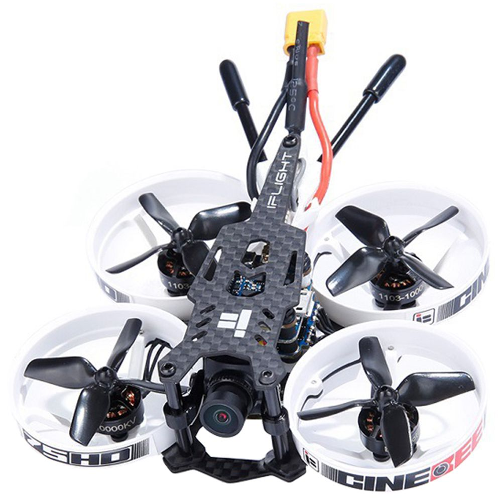 iFlight Cinebee 75HD PLUS 2-3S Whoop FPV Racing Drone con SucceX Micro F4 Stack Runcam Split 3 Nano Cam BNF - Ricevitore FrSky XM +