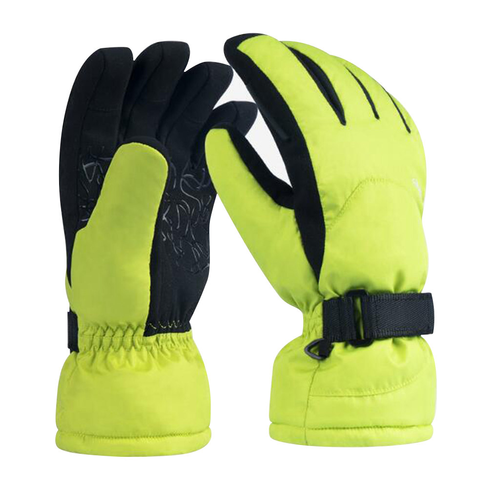 Xiaomi Youpin Waterproof Ski Gloves Sports Motorcycle Multi-function Gloves Size L - Green