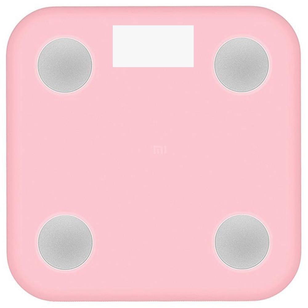Xiaomi Silicone originale protegge la custodia anti-statica da lavare per Xiaomi Smart Scale di grasso corporeo -Pink