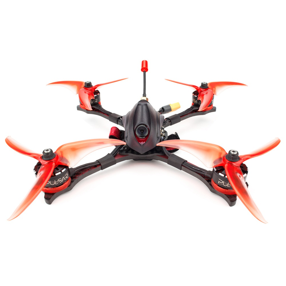 Emax Hawk PRO 5 hüvelykes 4S FPV versenyző drón F4 BF OSD FC-vel 4in1 35A BLheli_32 ESC Pulsar 2306 2400KV Caddx Ratel Cam - BNF verzió