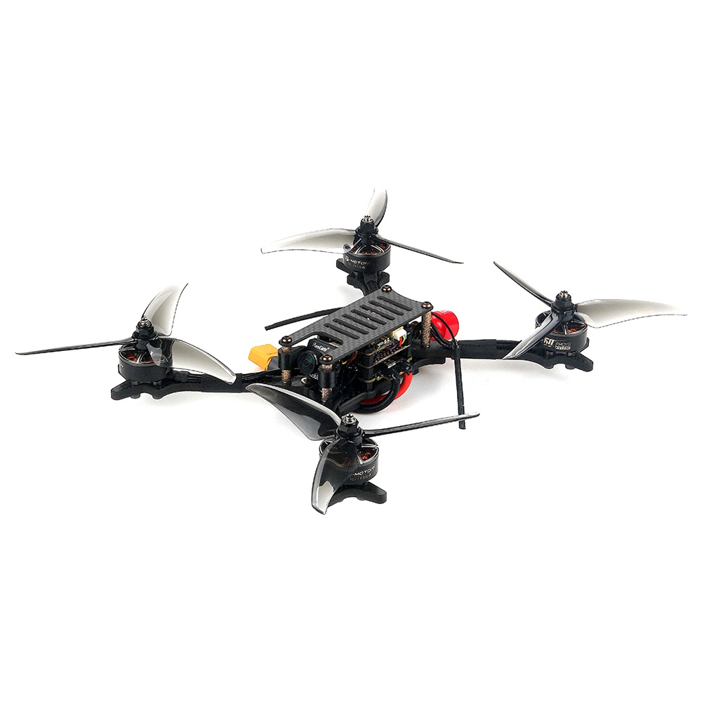 Drone de corrida FPV Holybro Kopis 2 6S 5 de polegada com Kakute F7 V1.5 FC Tekko32 4in1 40A ESC 800mW VTX Runcam Robin Cam BNF - Receptor Frsky R-XSR