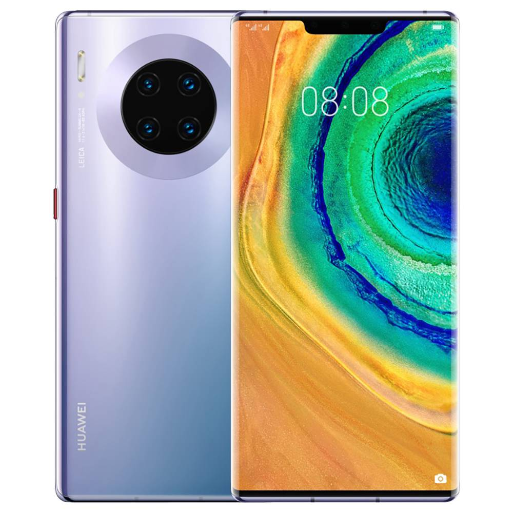 "HUAWEI Mate 30 Pro CN Version 5G Smartphone 6.53"" OLED Display Kirin 990 8GB 256GB 40.0MP+40.0MP+8.0MP+3D Depth Sensing Quad Rear Cameras NFC Fingerprint ID Dual SIM Android 10.0 - Space Silver"