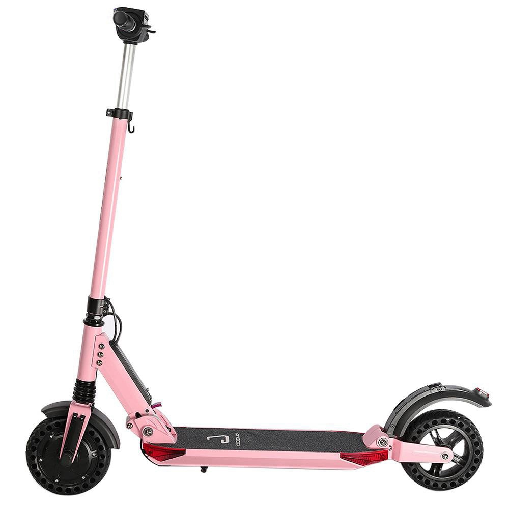 KUGOO S1 Pro Folding Electric Scooter 350W Motor LCD Display Screen 3 Speed Modes Max 30km/h Waterproof - Pink