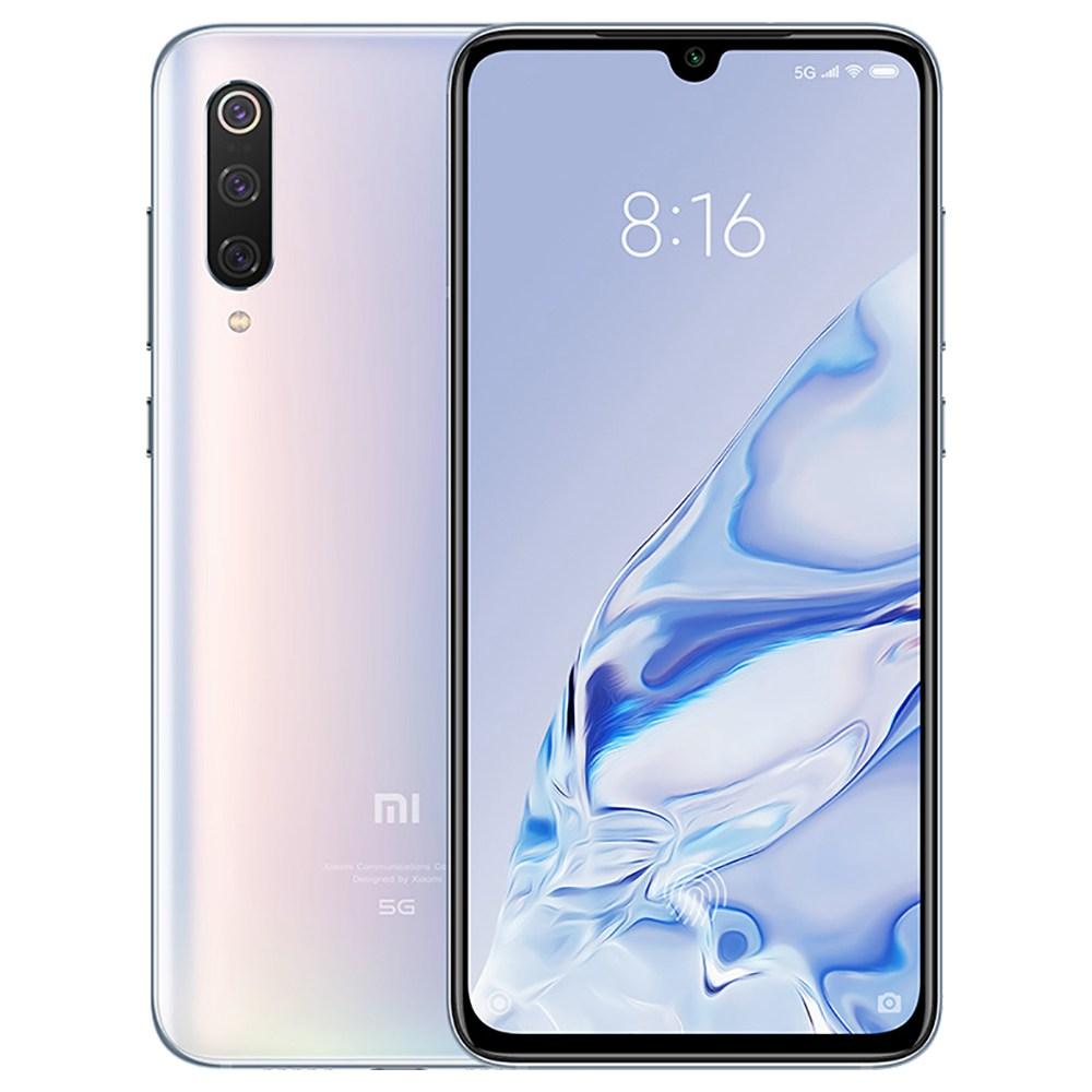 Xiaomi Mi 9 Pro CN รุ่น 5G สมาร์ทโฟน 6.39 นิ้ว Snapdragon 855 Plus 8 GB 256GB 48.0MP + 12.0MP + 16.0MP Triple กล้องด้านหลัง Triple ID ลายนิ้วมือ Dual SIM MIUI 11 - สีขาว