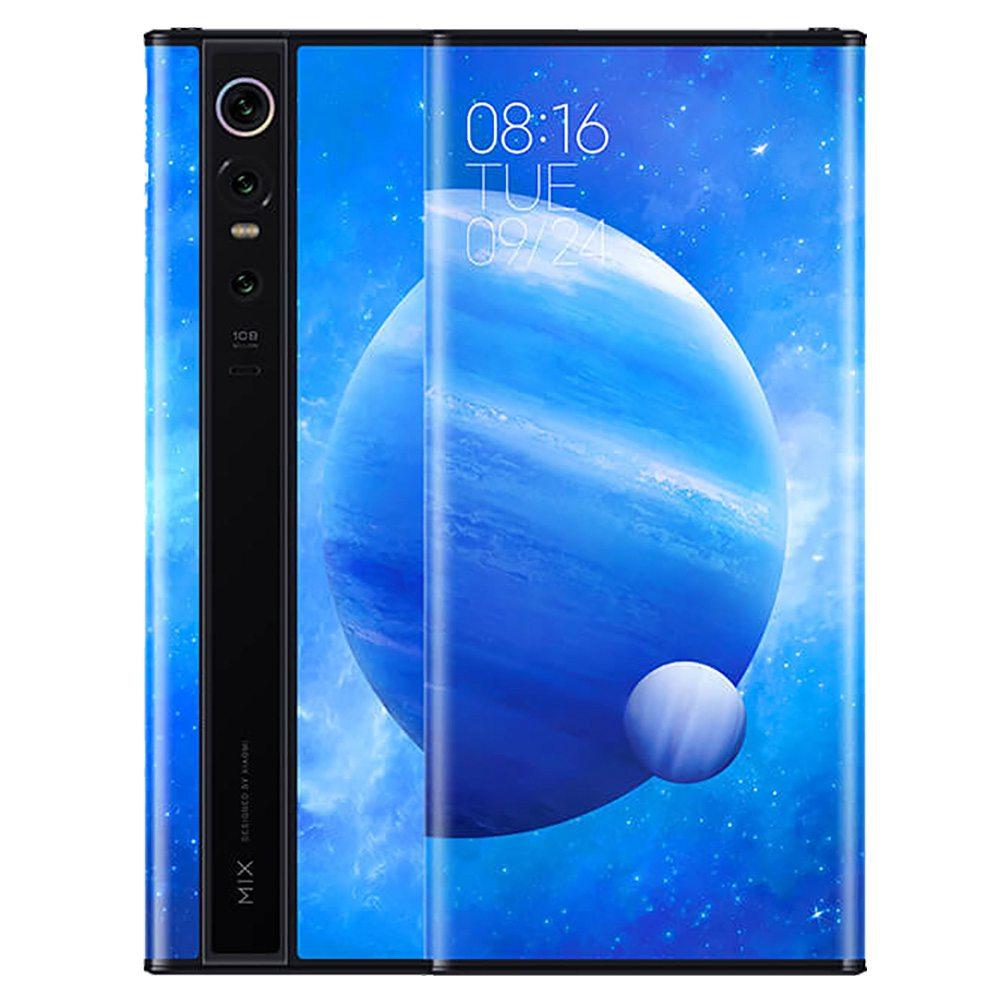 Xiaomi Mix Alpha 5G okostelefon 7.92 hüvelykes Snapdragon 855 Plus 12GB 512GB 108.0MP + 12.0MP + 20.0MP Hármas hátsó kamera ujjlenyomat-azonosító Dual SIM MIUI 11 - fekete