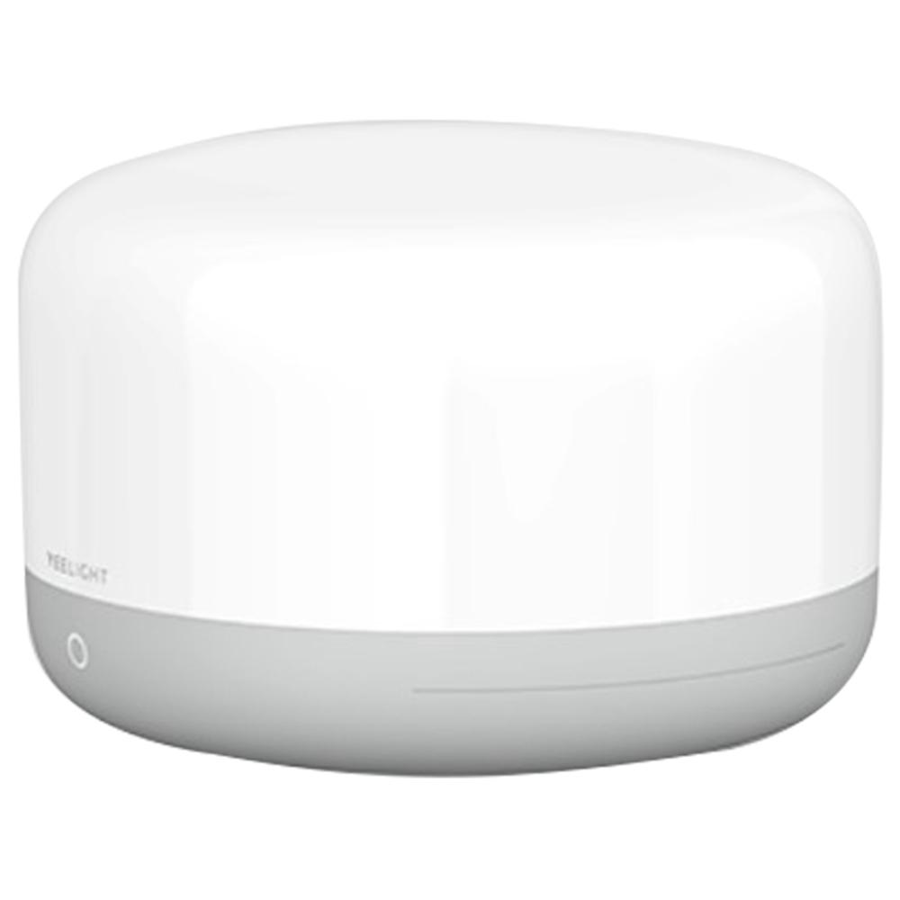 Xiaomi Yeelight YLCT01YL Lámpara de mesita de noche LED Control de aplicación de voz inteligente de luz nocturna colorida - Blanco