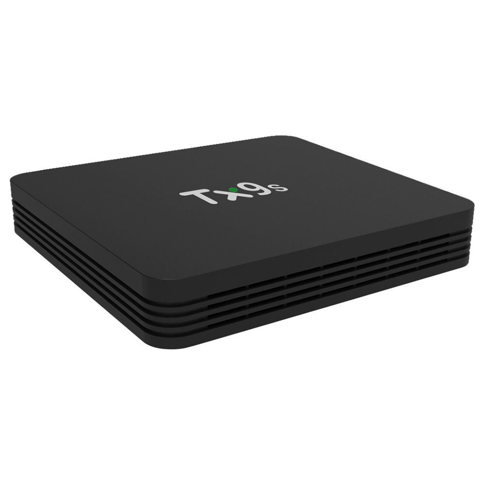 TANIX TX9S KODI Amlogic S912 4K HDR-TV-Box Android 9.0 2 GB / 8 GB HDMI 2.0 WIFI Gigabit LAN-Fernbedienung