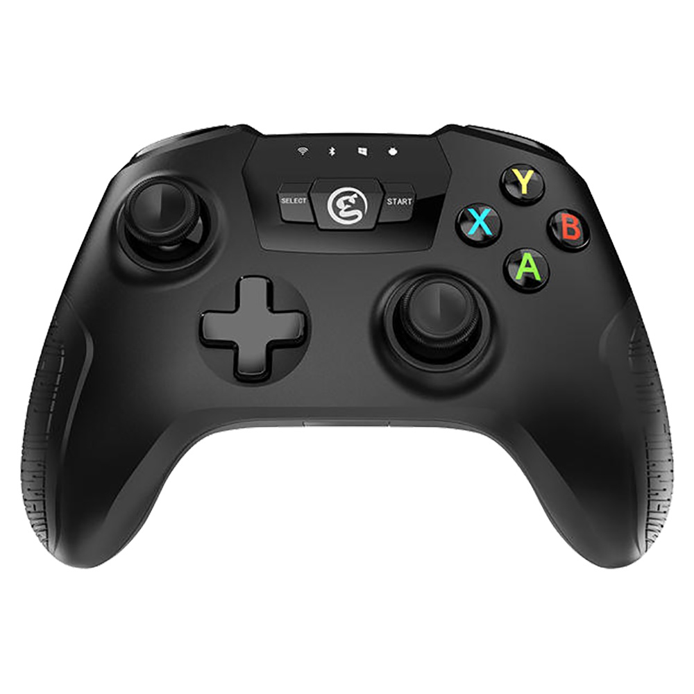 GameSir T2a Bluetooth Gamepad 2.4G Wireless verdrahteter Gamecontroller mit Halterung für Android Windows PC SteamOS - Schwarz