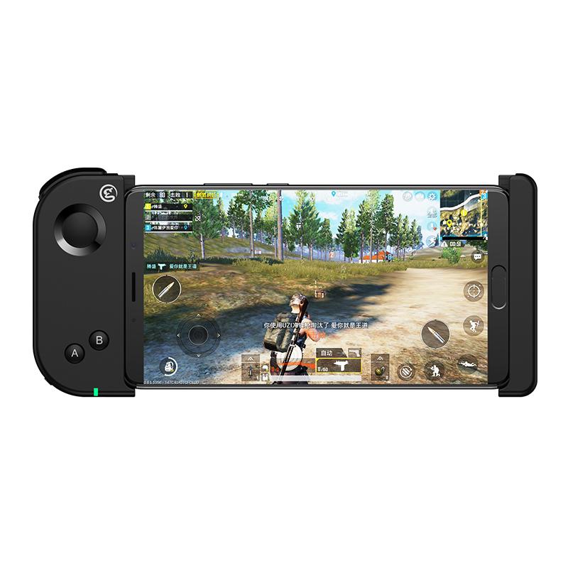GameSir T6 Contrôleur de jeu extensible à une main Bluetooth pour téléphones X pouces / Android 4.5 6.7 Prise en charge de jeux FPS - Noir