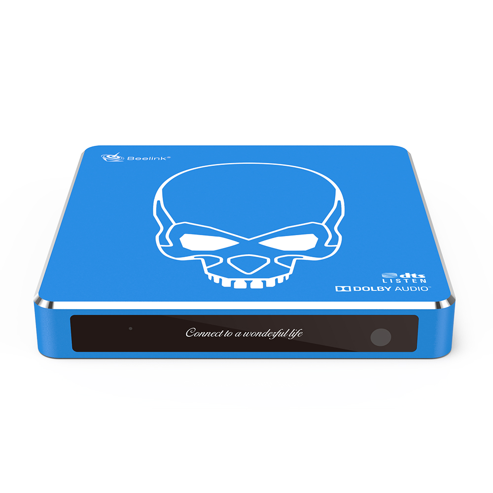 Beelink GT-King Pro 4 ГБ / 64 ГБ Amlogic S922X-H Android 9.0 Привет-Fi Звук без потерь 4K TV Box Dolby DTS Google Assistant Голосовой пульт дистанционного управления Bluetooth 2.4G / 5.8G Wi-Fi 1000M LAN USB3.0