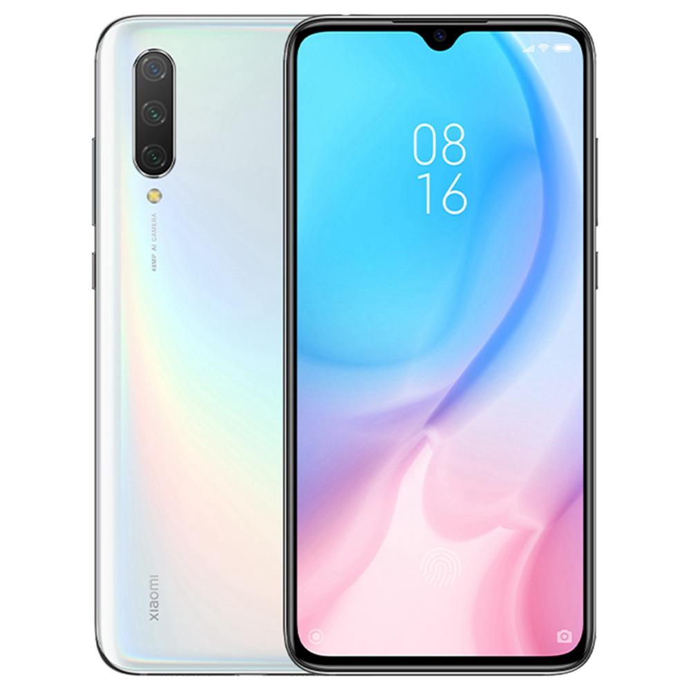 Xiaomi Mi 9 Lite 6.39 Inch 4G LTE Smartphone Snapdragon 710 6GB 64GB 48.0MP+8.0MP+2.0MP Triple Rear Cameras Fingerprint ID Dual SIM MIUI 10 Global Version - White