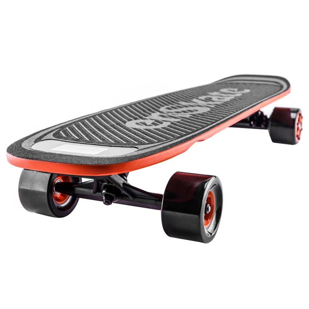 Enskate Woboard Electric Skateboard Dual 450W Motors Max 35km / h with Remote Controller-ブラック+オレンジ