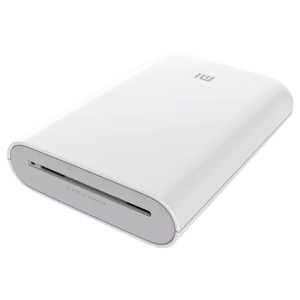 XIAOMI Pocket Photo Printer 3 Inch 300dpi ZINK Non-ink Technology Portable Picture Printer APP Bluetooth Connection - White