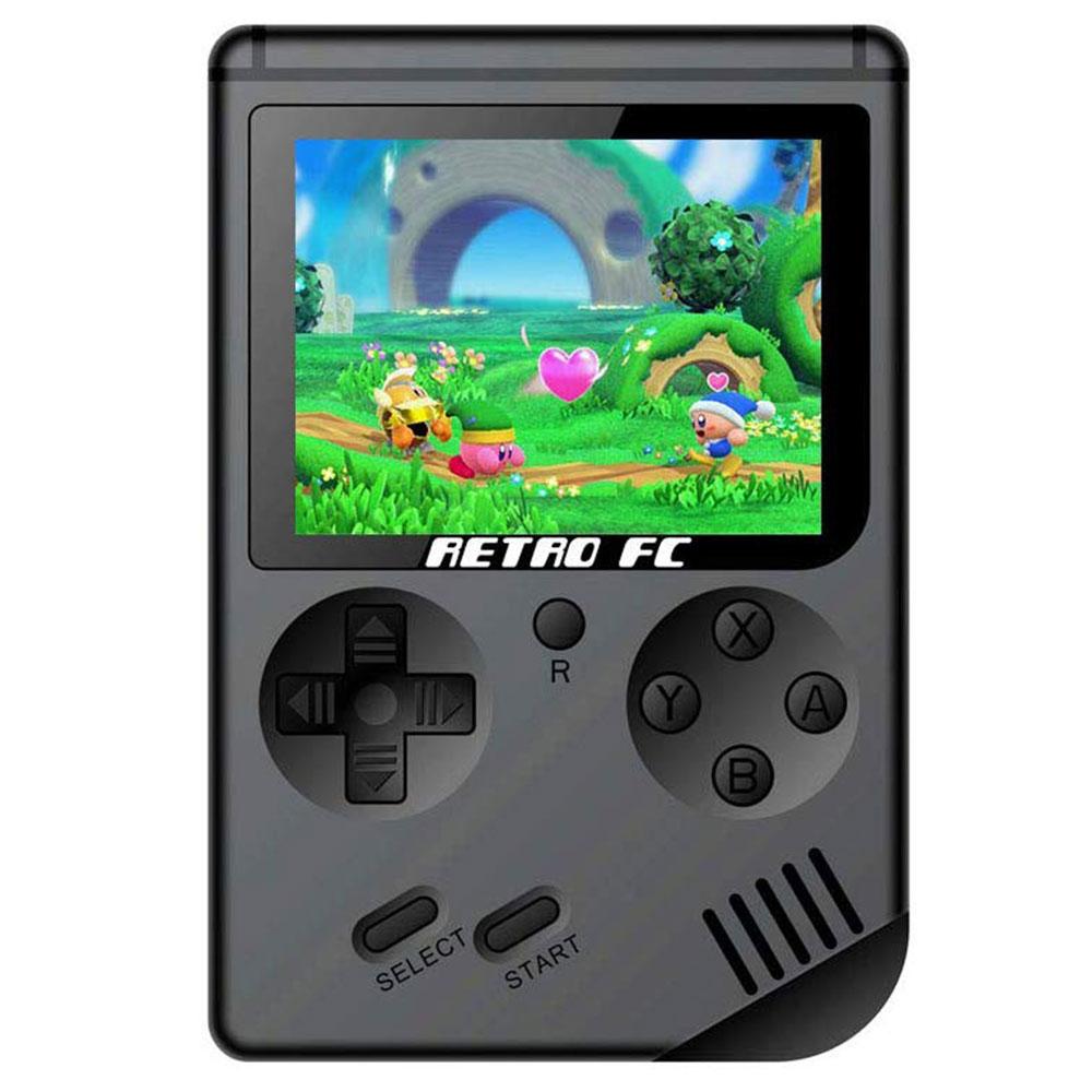 RG300 3 hüvelykes képernyő 8 Bit Retro játékkonzolok 168 klasszikus játékok támogatja a TV-kimenetet
