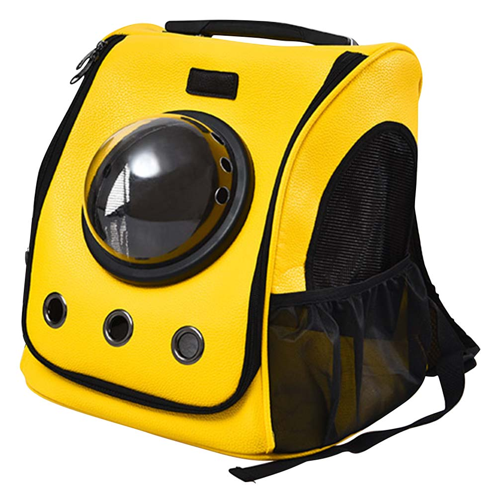 Small Beast Star Space Capsule Pet Carrier Backpack Portable Foldable Breathable Transparent For Outdoor Use