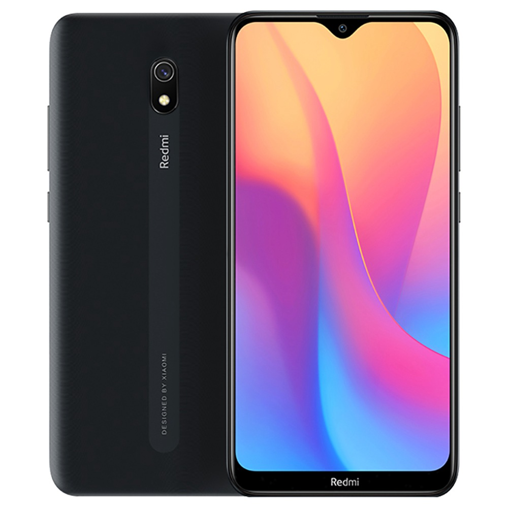 Xiaomi Redmi 8A CN Version 6.22 Inch 4G LTE Smartphone Snapdragon 439 4GB 64GB 12.0MP+8.0MP Dual Cameras Face Identification Dual SIM MIUI 10 - Black