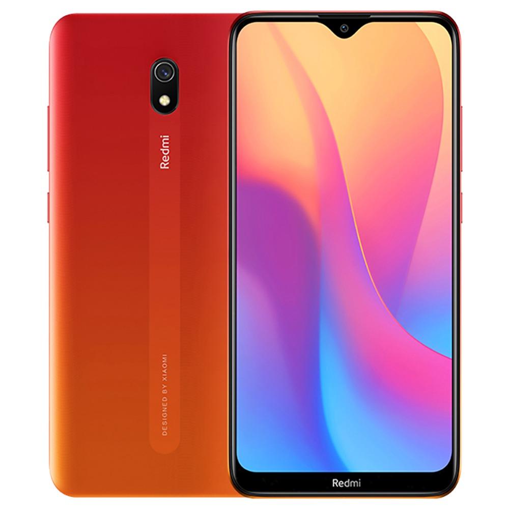 Xiaomi Redmi 8A CN-versie 6.22 Inch 4G LTE Smartphone Snapdragon 439 4GB 64GB 12.0MP + 8.0MP Dubbele camera's Gezichtsidentificatie Dual SIM MIUI 10 - Oranje