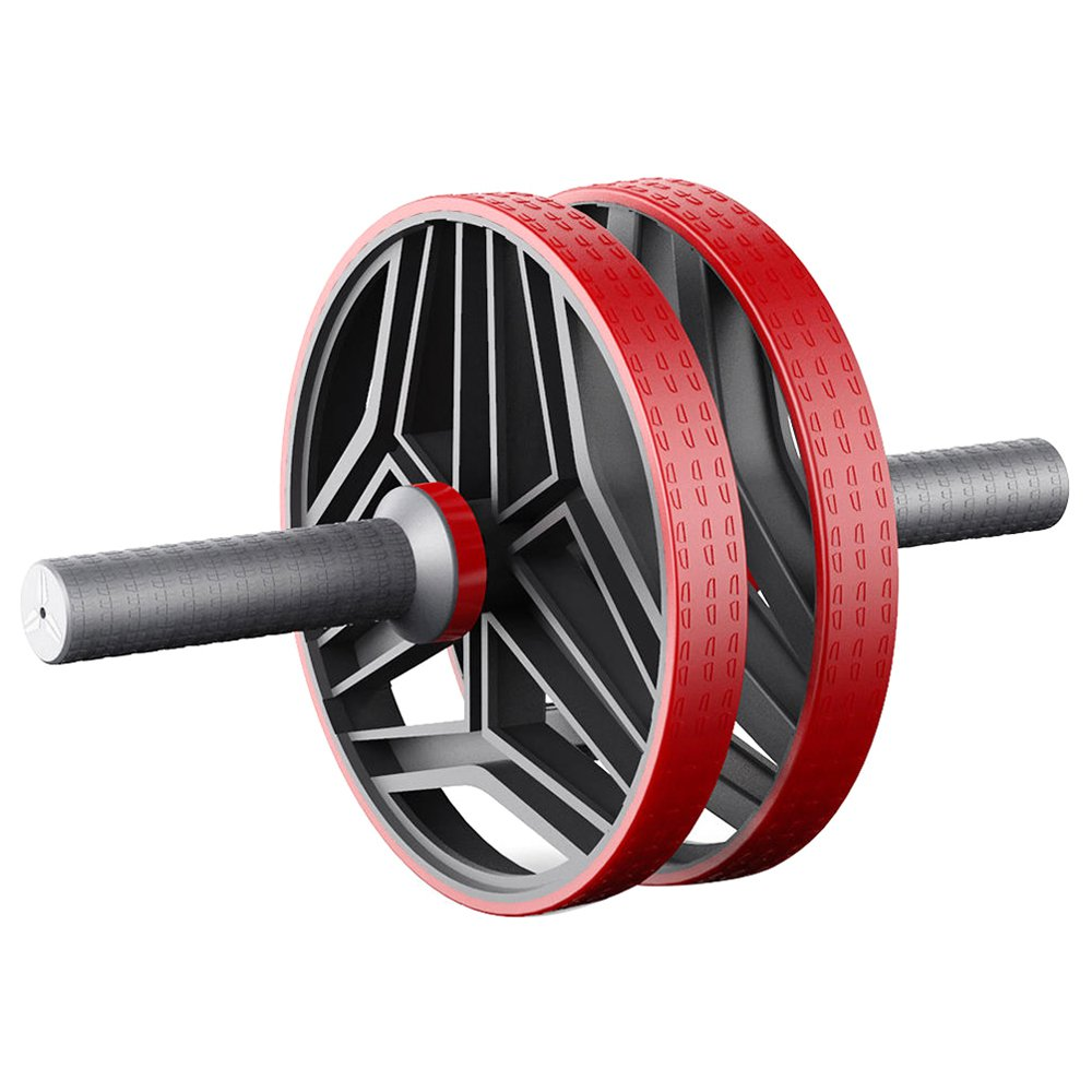 FED Indoor Abdominal Wheel Beginner Fitness Equipment Non-slip Handle by Xiaomi Youpin - Red