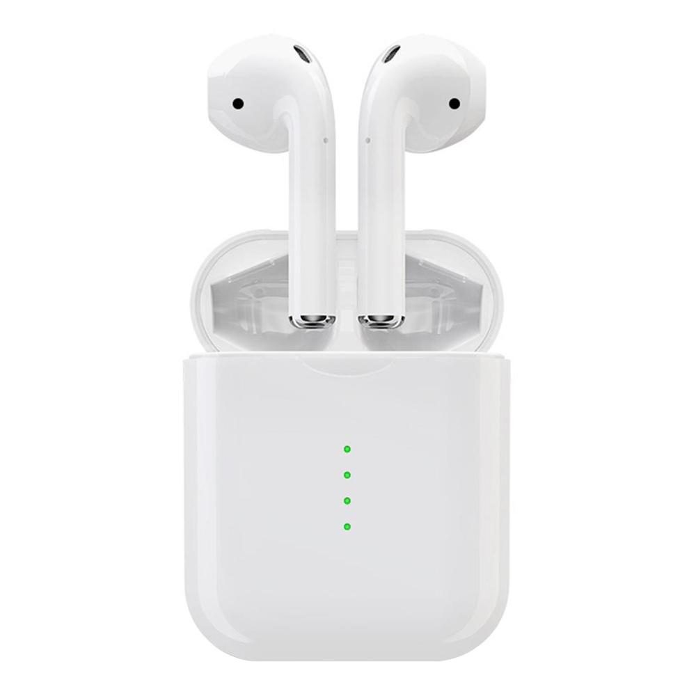 i10 TWS Bluetooth 5.0 fülhallgatók független használata Érintse meg a Vezérlés automatikus párosítás - Fehér