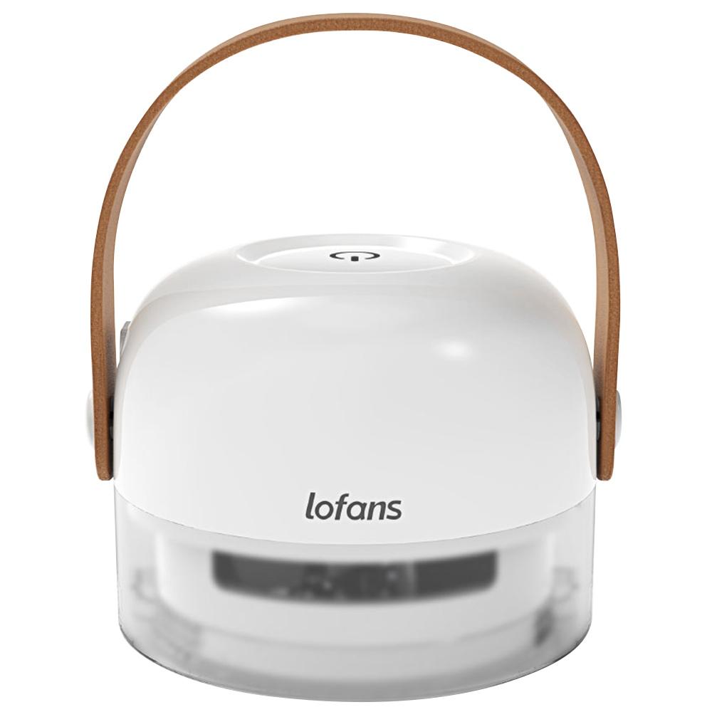 Tondeuse à cheveux portable rechargeable électrique Lofans Lint Remover - blanc