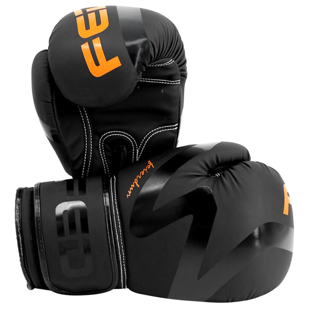 Xiaomi FED XM106 Fitness Training Boxing Gloves For Men 10OZ - Black