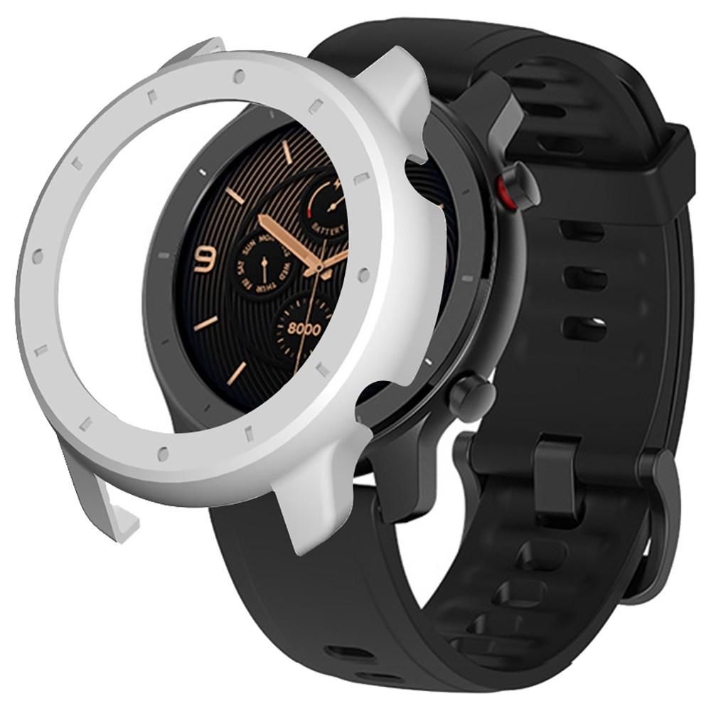 Custodia rigida protettiva per Xiaomi HUAMI AMAZFIT GTR Smart Sports Watch 42MM - Bianco