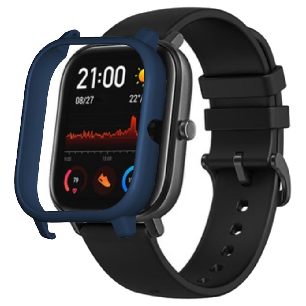 حافظة واقية صلبة لاجهزة شاومي هومي امازفيت جي تي اس ساعة رياضية ذكية - ازرق